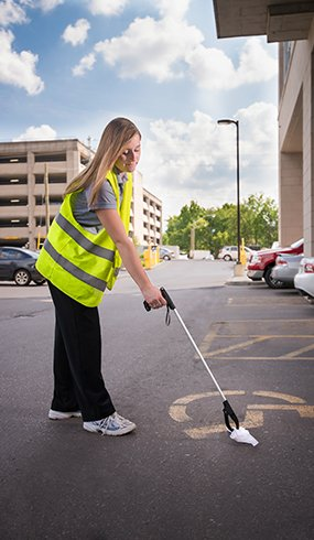 Commercial Cleaning - Garbage Pickup