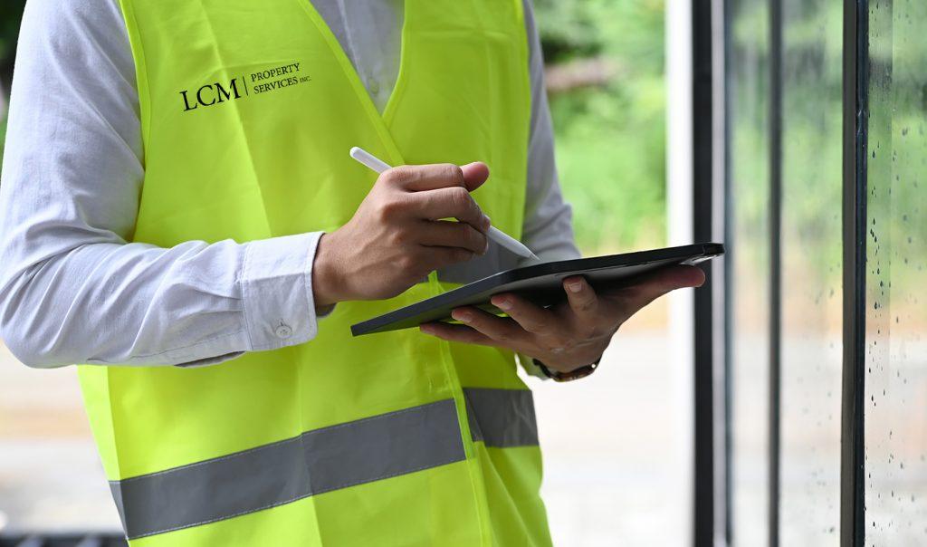 LCM Manager preforms QAV