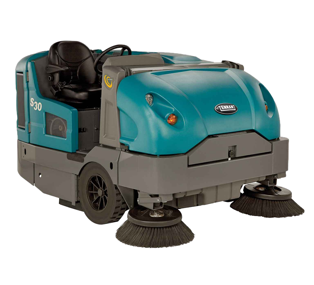 LCM has two Tennant S30 sweepers